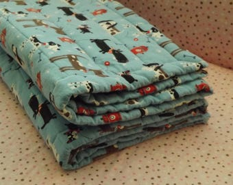 Baby Crib Flannel Blanket