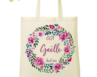Tote bag personalized bachelorette party
