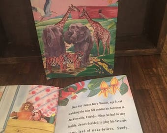 Personalized Noah's Ark Children's Book