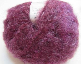 New Gedifra Yarn Purple Unused Coats Gmbh Mohair Crochet Knit Wool Scarf Clothing Sweater Hat Cap DIY