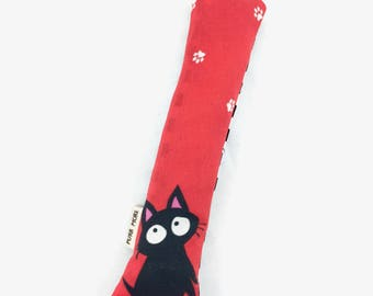Black Cat Crisp Organic Catnip Crinkle Kicker Cat Toy by For Mew