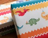 Wrapping Paper -- Dinosaur Party!