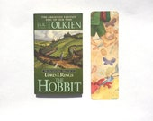 HOBBIT bookmark high-quality bilbo baggins bookmark featuring faerie tale feet painting inspired by j.r.r. tolkien's the hobbit back again