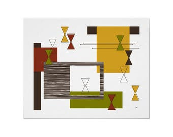 Doojigger Art Print Modern Abstract in Various Sizes & Colors