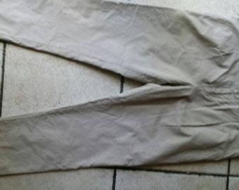 "Brunello Cucinelli Tan Khaki Pleat Front Chino Pants Italian 50-36""x29"" Inseam"
