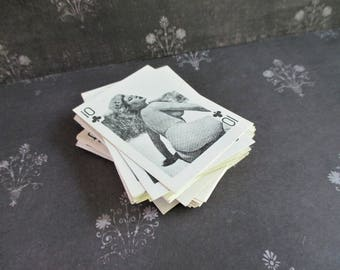 Vintage Nude Women Little Deck of Playing Cards