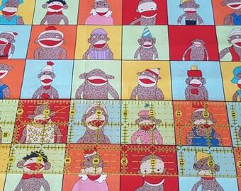 1/2 yard - Moda Fabrics - 5 Funky Monkeys by Erin Michael