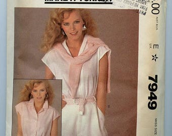 McCall's Blouse Pattern 7949
