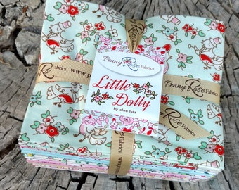 SALE 21 Fat Quarters LITTLE DOLLY by Penny Rose Fabric from Elea Lutz