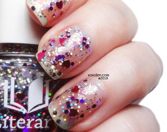 Mawage - Limited Edition Valentine's Dad Heart Glitter Topcoat
