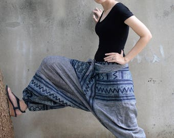 Talk of the town 100 % linen Harem Pants