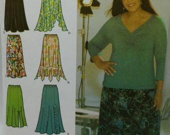 haliah Ali Collection Design Your Own Skirt Womens Skirt Pattern Simplicity 4706 Womens Skirt Pattern Womens Sizes 26w 28w 30w 32w