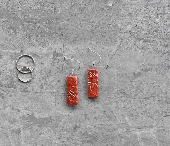 Cherry Tomato Dichroic Gl...