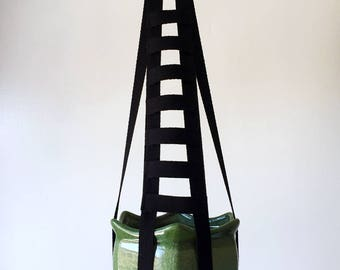 Black Ladder – Plant Hanger – 18 inches tall - works with 2-4-6 inch pot