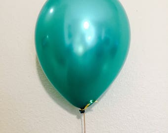 Emerald Latex Balloon, Emerald Wedding Balloons, Winter Balloons, 11 Inch Latex Balloons,Winter Wedding Balloon, Emerald Holiday Balloon