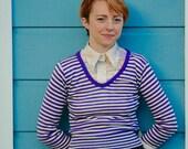 70s Striped Sweater... 70s Disco Sweater... 70s Knit Wear... Striped Sweater... 70s Sweater... Sparkly Sweater... Knit Wear