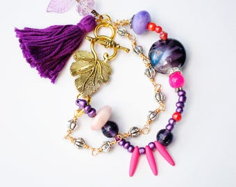 Through the Grapevine 2-strand Bracelet