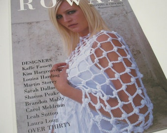 73% off Rowan Knitting & Crocheting Pattern Book #35 Magazine Spring/Summer 30+ Designs