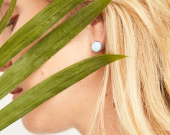 The Blue Pearl Earring / 20% off