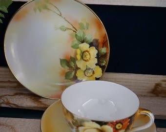 Nippon Tea Cup & Plate Set