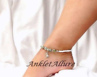 Anklets BareFoot Anklet Beach Ankle Bracelet Stone Anklet Cruise Jewelry GUARANTEE Anklets For Women
