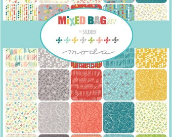 Mixed Bag 2017 Charm Pack by Studio M for Moda