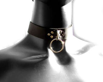 JUPITER Collar in Black and Silver