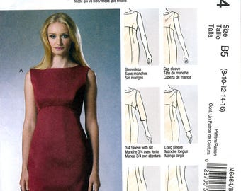 McCall's M6464 Sewing Pattern by Palmer Pletsch for Misses' Dress - Uncut - Size 8, 10, 12, 14, 16