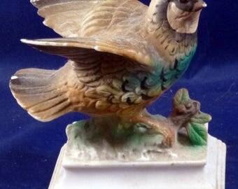 Vintage Bird Figurine, 1940s