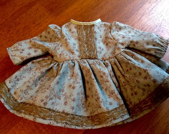 """Handmade 18""""  Doll Clothes, 18 inch doll clothes, 18 inch doll dress, 18"""" doll dress, handmade 18"""" doll clothes"""