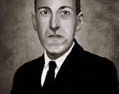 HP Lovecraft Art Print...
