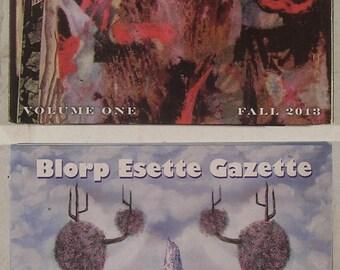 BLORP ESETTE Gazette: 2 C.D. Set - Volumes 1 & 2 - L.A.F.M.S. Experimental ART Muzik / Noise