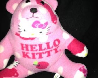 character fleece fabric teddy bear,