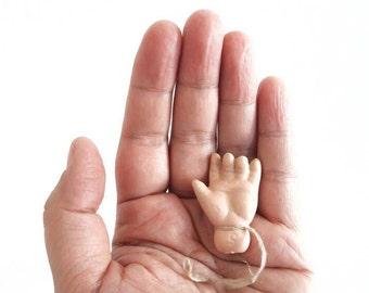 Vintage Porcelain Doll Hand