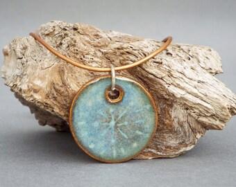 Ceramic Necklace, Girlfriend Gift, Statement Necklace, Ceramic Jewelry ,Boho Jewelry, Gift for Her