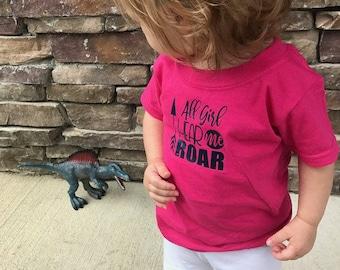 All Girl - All Girl Hear Me Roar Shirt