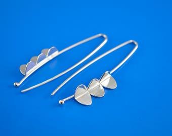 Sterling Silver Earrings - Wing Earrings