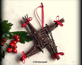 Brigid's Cross No.1 - Imbolc, Celtic, Druid, Witchcraft, Wicca, Pagan