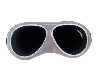 Aviator sunglasses sleep mask