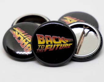 Back to the Future   2015 Logo   1-inch Button