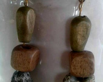 Driftwood by the Shore Dangle Earrings