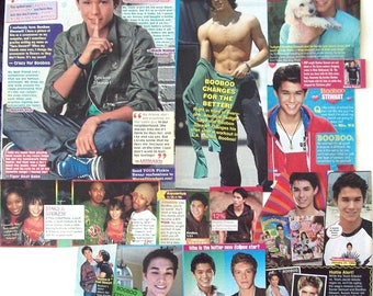 BOOBOO STEWART ~ Descendants, The Twilight Saga, Eclipse, Breaking Dawn, He Never Died ~ Color Clippings, Articles, Poster for Scrapbooking