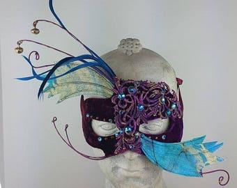 Masquerade Mask Blue//Masquerade Mask Purple//Masquerade Mask//Masquerade//Mask Masquerade//Mask//Masquerade Ball Mask/Halloween Masquerade