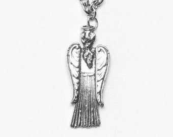 """Spoon Necklace: """" Angel Pendant Necklace """" by Silver Spoon Jewelry"""