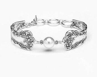 """Spoon Bracelet: """"Lady Helen"""" by Silver Spoon Jewelry"""