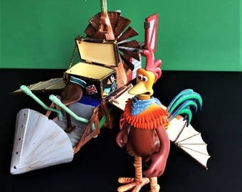 Rocky's Flying Machine from the movie Chicken Run by DreamWorks Pictures and Aardman Animation made by Playmates Toys
