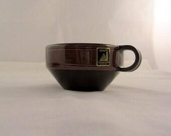 Vintage Graveren Norsk Pottery Cup and Saucer Set