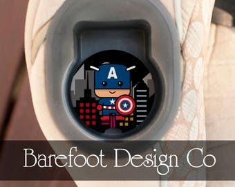 Captain America Carseat Personalized Custom Sandstone Car Coaster FAST SHIPPING