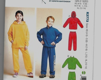 girl hood zipper jacket sweat pdf pattern sewing