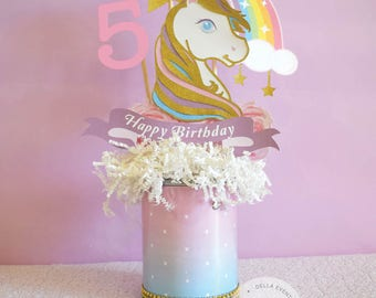 Unicorn Centerpiece, Unicorn Birthday, Unicorn Party, Unicorn Decoration, Unicorn Decor, Unicorn Topper, Unicorn Celebration, Gold